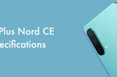 OnePlus Nord CE Specifications