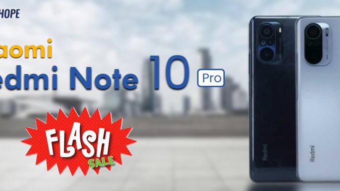 xiaomi redmi note 10 pro flash sale