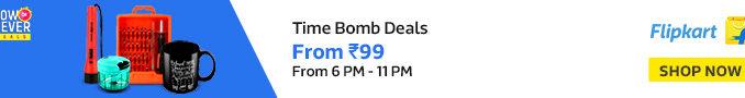 Flipkart Time Bomb Sale